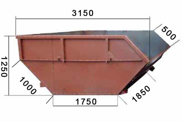 Сделать мусорный контейнер своими руками