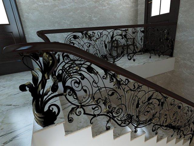 Ковка лестниц